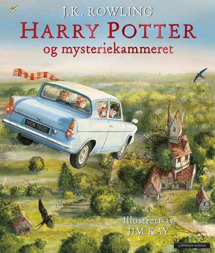 Harry Potter (dl 2) og mysteriekammeret (pocket)
