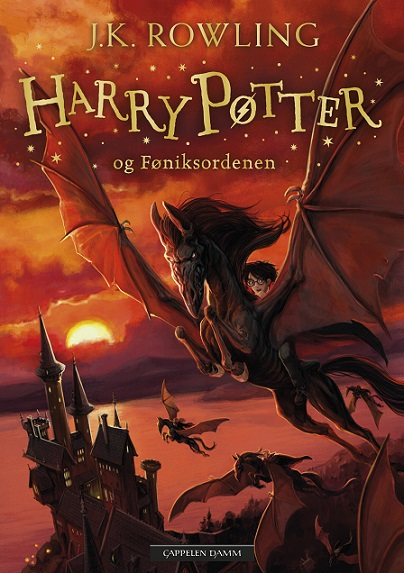 Harry Potter (dl 5) og føniksordenen (pocket)
